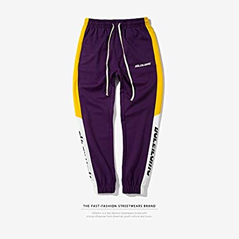 WANGMEILING-Sweatpants Pantalones de Hombre Pantalones de ...