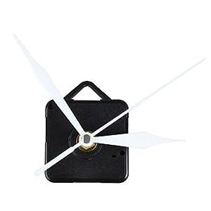 TOOGOO 1pz Movimiento de pared de cuarzo de manos blanco Herramienta piezas de reparacion del mecanismo 2