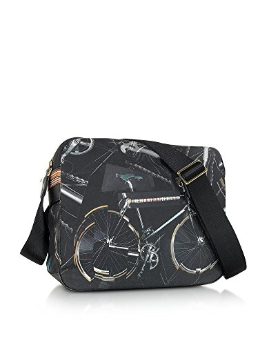 Nera Borsa Paul Auxc5270l92679 Messenger Uomo Smith Tela qwUPa