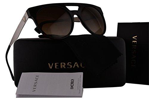 Versace VE4339 Sunglasses Red Havana w/Brown Gradient Lens 525013 VE - Versace 2163