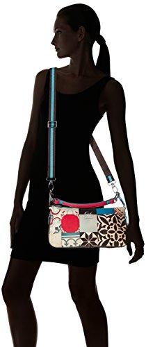 Pochette GABS Trasf Elena Vela Tg Multicolore S 308 Studio Print Donna Borsa Maioliche AqwtqTxr