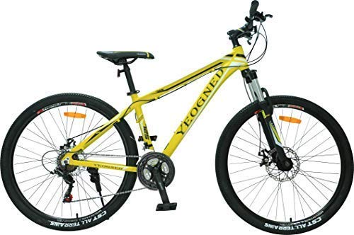 YEOGNED 27.5 Suspension Mountain Bike Shimano Disc Brake Outdoor Sports Cycling Bicycle
