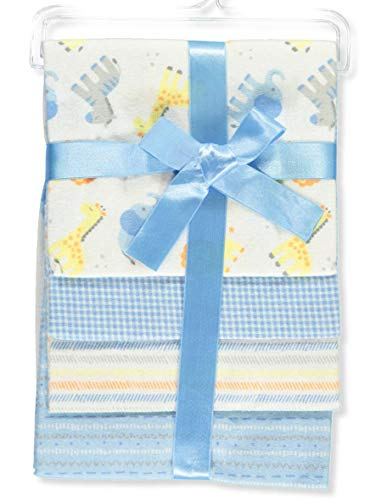 Lovable and Cozy 4-Pack Receiving Baby Blankets