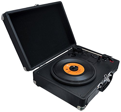 PVTTBT6BK Bluetooth Classic Turntable Rechargeable