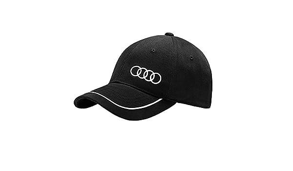 Audi 3131400900 Gorra Unisex, Negro: Amazon.es: Coche y moto