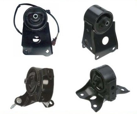 M014 7306EL 7302 7304 7303 2003 Nissan Maxima GLE 3.5L Front & Rear & Right & Trans Set 4 Engine Motor Mount 1999 Nissan Maxima Gle