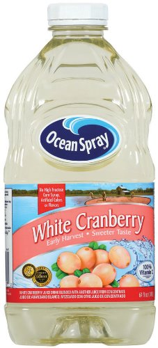 Ocean Spray White Cranberry Juice Drink, 64 Fl Oz (Pack of 4) by Ocean Spray
