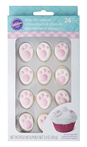 - Wilton Industries Easter Bunny Feet Icing Decorations