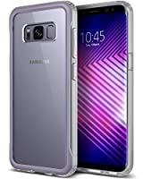 Caseology [Coastline Series] Galaxy S8 Case - [Transparent/Slim] - Orchid Gray