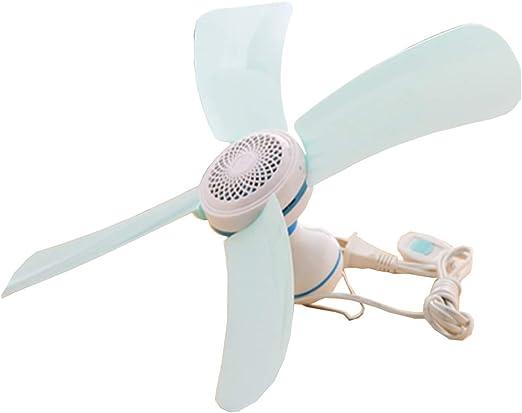 4 hoja ventilador de techo miniatura ventilador estudiante micro ...