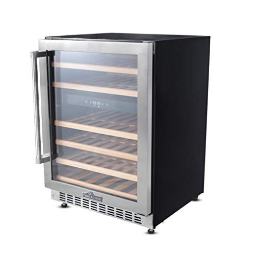 Thorkitchen JC-145A2EQ 46 Bottle Built-in & Free Standing Dual Zone Wine Cooler, Stainless Steel by Thor Kitchen (Image #2)