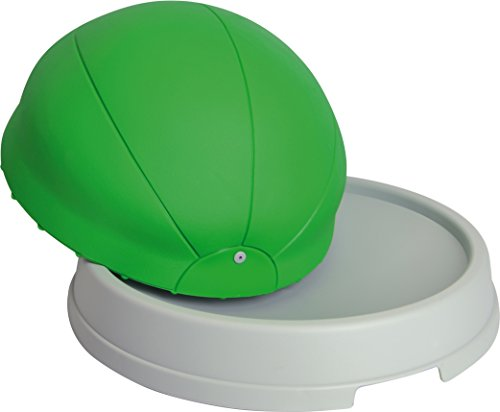 Gymnic Core Balance Trainer, Inflatable Workout Dome with Base, Green