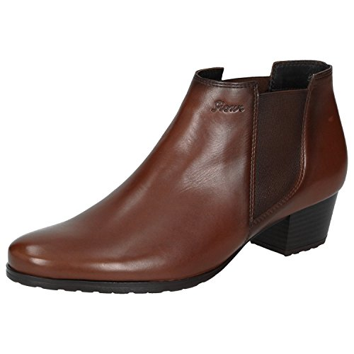 Marron Sioux Bottines 003 Marron Cognac Femme Fehima nxxqwR