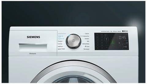 Siemens WM14T748IT iQ500 - Lavadora estándar (8 kg, clase A+++ ...