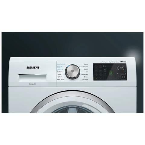 Siemens WM14T748IT iQ500 - Lavadora estándar (8 kg, clase A ...