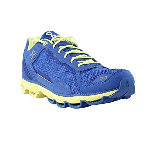 ON Cloudrunner Sapphire/Limelight Running, Cross Training Womens Athletic Shoes Size 10.5 New