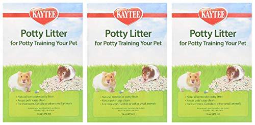 Hamster Litter Training - KT Kaytee Potty Litter 16oz Box