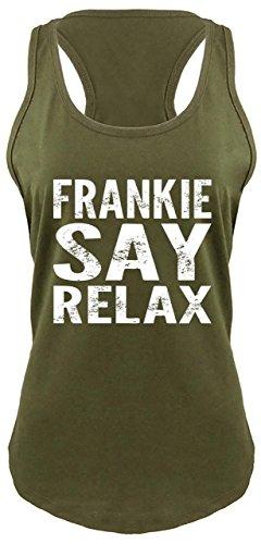 Ladies Racerback Tank Frankie