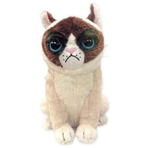Grumpy Cat Plush Toy - Ripple Junction Grumpy Cat 11