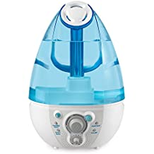 Ultrasonic Humidifier and White Noise Machine | Plays 4 Baby Lullaby Sounds, Calming Nightlight, Clean Tank Technology, 45 Hour Runtime, 1 Gallon Tank | Small, Lightweight | MyBaby SoundSpa