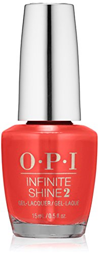 OPI Infinite Shine, Coca-Cola Red, 0.5 fl. (Pop Culture Collection)