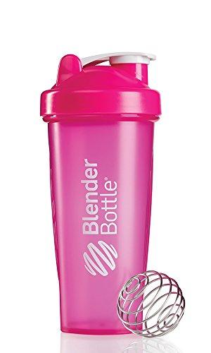 BlenderBottle classique boucle supérieure Shaker bouteille, rose, 28 onces