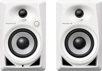 Pioneer Pro DJ White (DM-40-W) by Pioneer Pro DJ