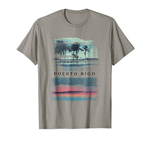 Puerto Rico Vacation Souvenir Shirt - Retro Beach Apparel