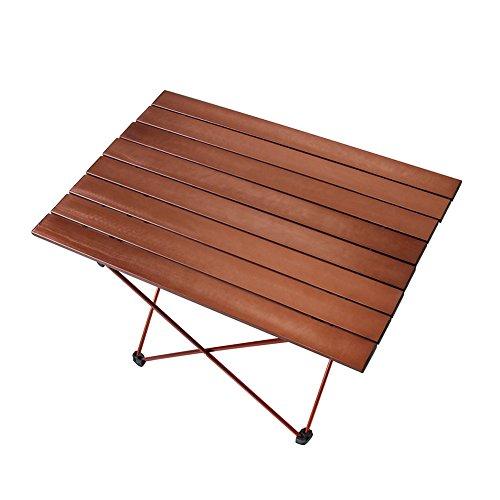Aobeau Ultra-Light Multi-Function Portable Outdoor Aluminum Folding Table by Aobeau
