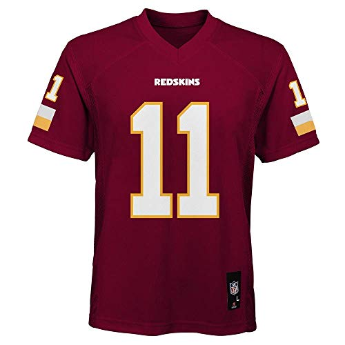 Outerstuff Alex Smith Washington Redskins NFL Youth 8-20 Red Home Mid-Tier Jersey (Youth Medium 10-12)