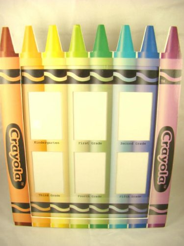 Crayola School Photo Frame