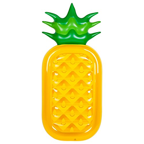 Sunnylife Luxury Adult Inflatable Pool Float Lie Down Beach Toy - Pineapple