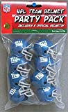 New York Giants Team Helmet Party Pack