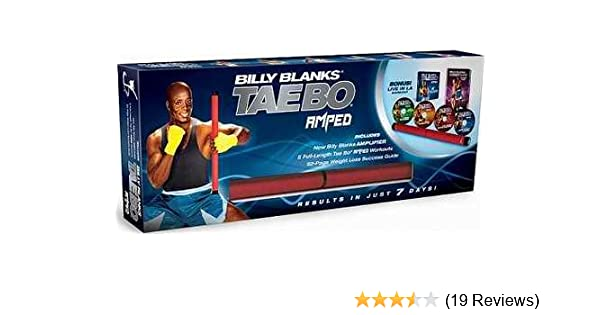 Amazon.com: Billy Blanks Taebo Tae Bo Amped W/ Amplifier. USUALLY SHIPS WITHIN 1 BUSINESS DAY: Health & Personal Care