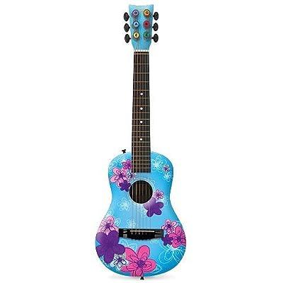 First Act FG3713 Designer Acoustic Guitar, Blue Doodle