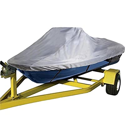 420 DENIER, UV Reflective, Travel, Storage and Mooring Watercraft PWC Jet Ski Cover for Sea Doo Sea-Doo Bombardier GS Inter First Series 2001 1-2 Seater