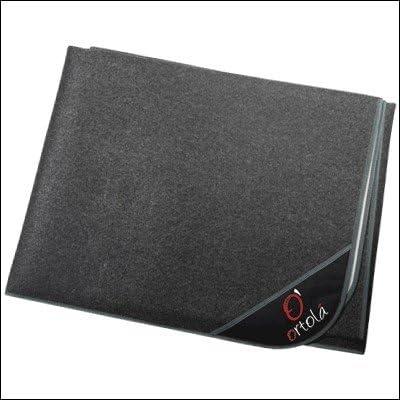 color gris Moqueta antideslizante bater/ía 2 x 2 Ortola 1053-050