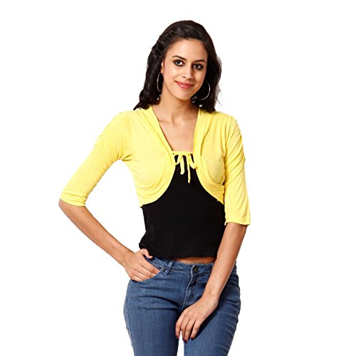 Teemoods Women #39;s Viscose Stylish and Fashionable Short Shrug, Summer Shrugs for Women