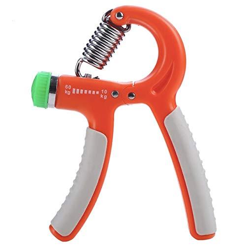 Price comparison product image 10-60Kg Adjustable Heavy Gripper Fitness Exerciser Grip FatGrip Wrist Increase Strength Spring Finger Pinch Carpal Expander - Orange