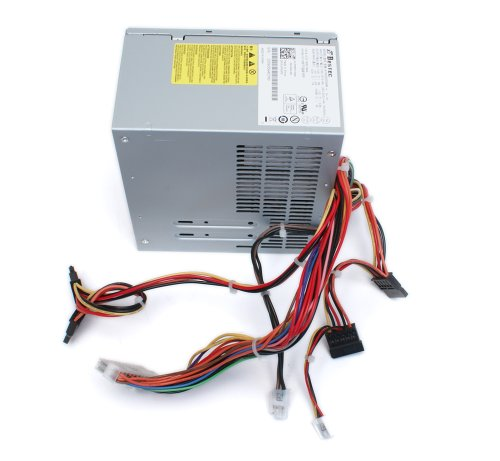 Genuine 250 Watt - 300 Watt XW600 XW601 Replacement Power Supply Power Brick PSU, For Dell Vostro 200, 201, 400, 220, Inspiron 530, 531,541, 518, 519, 537, 545, 546, 540, 560, 570, & 580 Mini Tower (MT) Systems, Replaces Part Numbers: 9V75C, C411H, CD4GP, by Dell (Image #2)
