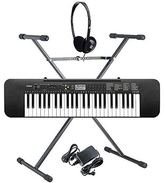 Casio CTK-240 Teclado (Incluidos alimentador, auriculares y ...