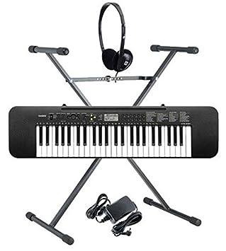 Casio CTK-240 Teclado (Incluidos alimentador, auriculares y soporte): Amazon.es: Instrumentos musicales