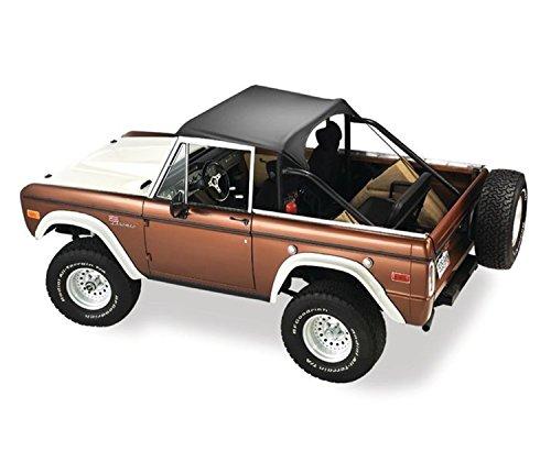 Bestop 52542-01 Traditional Bikini Black Top for 1966-1977 Ford Bronco