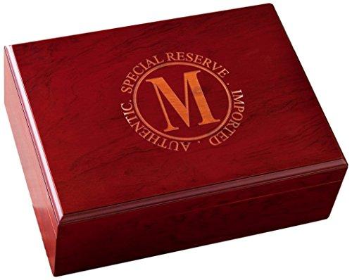 JDS Marketing Personalized Cherry Finish K Cigar (Cherry Finish Cigar Humidor)