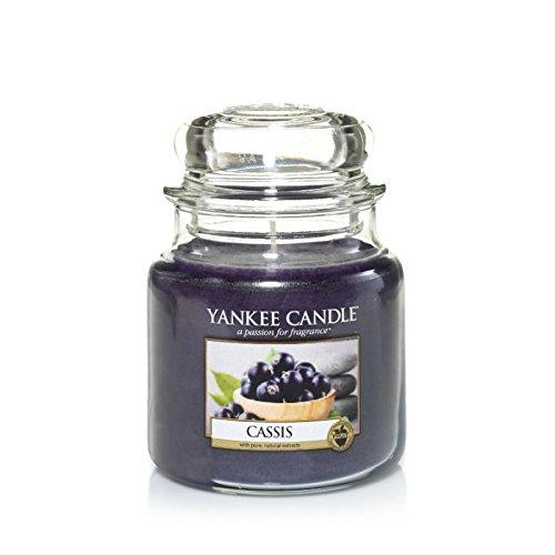 Yankee Candles Medium Jar Candle - Cassis (Pack of 6) - ヤンキーキャンドル培地瓶キャンドル - カシス (x6) [並行輸入品]   B01MRN93BU