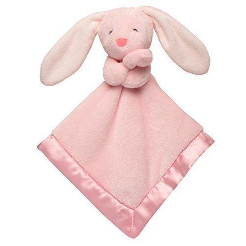 Baby Girl Bunny Security Blanket