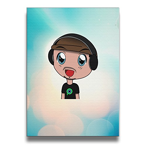 Bekey Jacksepticeye Poster Art Photo For Home Office Decorations Wall Decor For Living Room&bedroom (Boogie Man Costume)