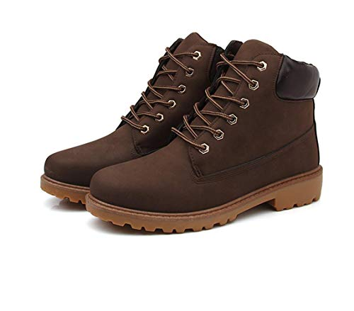 da Boot Uomo Stivali Marrone Leather Anfibi in Stivali Pelle Trekking Stivali Lavoro Scarpe da BtwXZnx5nq