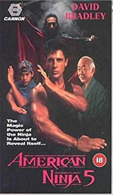 Amazon.com: American Ninja 5 [VHS]: David Bradley, Lee Reyes ...