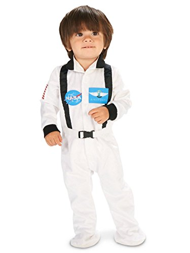 White Astronaut Infant Dress Up Costume 18-24M ()